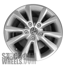 Picture of Volkswagen TOUAREG (2014-2016) 18x8 Aluminum Alloy Chrome 5 V Spoke [69976]