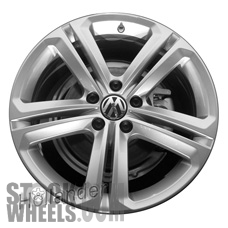Picture of Volkswagen TOUAREG (2014-2017) 20x9 Aluminum Alloy Chrome 5 Double Spoke [69977]