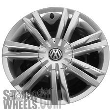 Picture of Volkswagen GOLF (2015-2016) 17x7 Aluminum Alloy Chrome 7 Double Spoke [69990]
