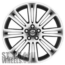 Picture of Volvo XC90 (2008-2014) 19x8 Aluminum Alloy Chrome 8 Double Spoke [70331]