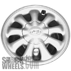 Picture of Hyundai PONY (1984-1987) 13x4.5 Aluminum Alloy Silver 9 Spoke [70658]
