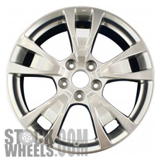 Picture of Acura TL (2009-2014) 19x8 Aluminum Alloy Chrome 5 Split Spoke [71788]