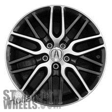 Picture of Acura TSX (2012-2013) 18x7.5 Aluminum Alloy Chrome 20 Spoke [71812]