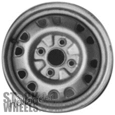 Suzuki SWIFT (1989-1994) 14x5 Steel Silver 12 Hole [72638]