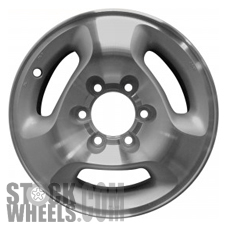 Picture of Infiniti QX4 (1997-2002) 16x7 Aluminum Alloy Machined with Silver 3 Spoke [73649]