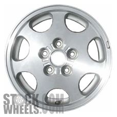 Picture of Infiniti I30 (1998-1999) 15x6.5 Aluminum Alloy Machined with Silver 7 Spoke [73652]