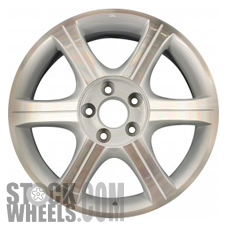 Picture of Infiniti I35 (2002-2004) 17x7 Aluminum Alloy Machined with Silver 6 Spoke [73661]