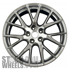 Picture of Infiniti G37 (2011-2013) 19x9 Aluminum Alloy Chrome 7 Y Spoke [73744]
