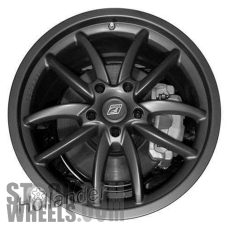 Picture of Lexus IS250 (2009-2011) 19x8 Aluminum Alloy Dark Grey 5 Double Spoke [74234]