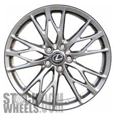 Picture of Lexus IS-F (2010-2014) 19x8 Aluminum Alloy Chrome 5 Triple Spoke [74246]