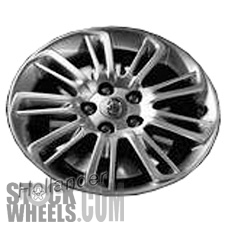Picture of Toyota CAMRY (2015-2017) 17x7 Aluminum Alloy Chrome 9 Split Spoke [75169]