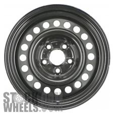 Picture of Buick SKYLARK (1990-1998) 14x6 Steel Black 20 Hole [08011]