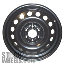 Picture of Saturn RELAY (2006-2007) 17x6.5 Steel Black 16 Hole [08037]