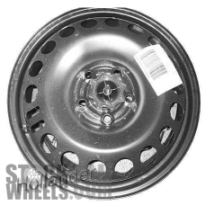 Picture of Saturn ASTRA (2008-2009) 16x4 Steel Black 19 Hole [08078]