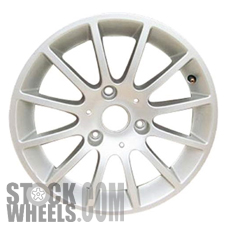 Picture of Smart FORTWO (2008-2015) 15x4.5 Aluminum Alloy Chrome 12 Spoke [85175]