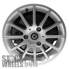Picture of Smart FORTWO (2008-2014) 15x5.5 Aluminum Alloy Chrome 12 Spoke [85181]