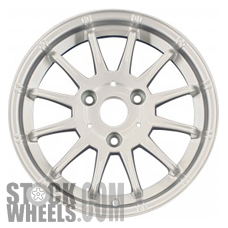 Picture of Smart FORTWO (2009-2014) 15x4.5 Aluminum Alloy Chrome 12 Spoke [85190]