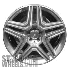 Picture of Mercedes ML-CLASS (2012-2015) 21x10 Aluminum Alloy Chrome 5 Double Spoke [85264]