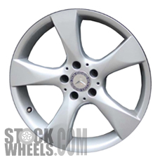 Picture of Mercedes B-CLASS (2013-2014) 17x7.5 Aluminum Alloy Silver 5 Spoke [85324]