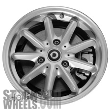 Picture of Smart FORTWO (2015-2016) 15x4.5 Aluminum Alloy Chrome 9 Spoke [85406]