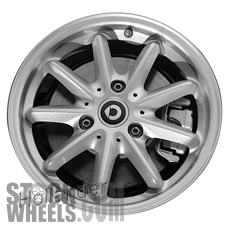 Picture of Smart FORTWO (2015-2016) 15x6.5 Aluminum Alloy Chrome 9 Spoke [85407]