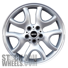 Picture of Mini COUNTRYMAN (2013-2017) 19x7.5 Aluminum Alloy Chrome 5 Y Spoke [86071]