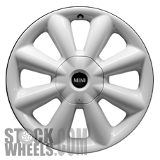Picture of Mini COOPER (2014-2017) 18x7.5 Aluminum Alloy Chrome 8 Spoke [86083]