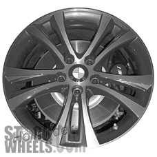 Picture of BMW 228i (2014-2016) 18x7.5 Aluminum Alloy Chrome 5 Double Spoke [86126]