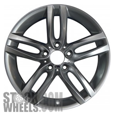 Picture of BMW 228i (2014-2016) 18x7.5 Aluminum Alloy Silver 5 Double Spoke [86127]