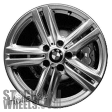 Picture of BMW 228i (2014-2016) 18x7.5 Aluminum Alloy Silver 5 Double Spoke [86129]