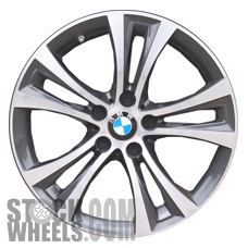 Picture of BMW 228i (2014-2016) 18x8 Aluminum Alloy Chrome 5 Double Spoke [86132]