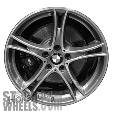 Picture of BMW 228i (2014-2016) 19x7.5 Aluminum Alloy Chrome 5 Double Spoke [86138]