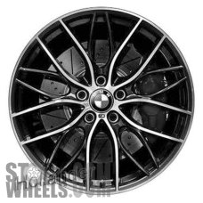 Picture of BMW 228i (2014-2016) 19x7.5 Aluminum Alloy Chrome 10 Y Spoke [86140]