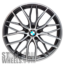 Picture of BMW 228i (2014-2016) 19x8 Aluminum Alloy Chrome 10 Y Spoke [86143]