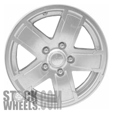 Picture of Jeep GRAND CHEROKEE (2006) 17x7.5 Aluminum Alloy Satin Clad 5 Spoke [09061]