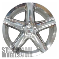 Picture of Jeep GRAND CHEROKEE (2006-2007) 20x9 Aluminum Alloy Polished 5 Spoke [09062]