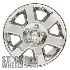 Picture of Jeep COMMANDER (2006-2008) 17x7.5 Aluminum Alloy Chrome Clad 6 Spoke [09066A]
