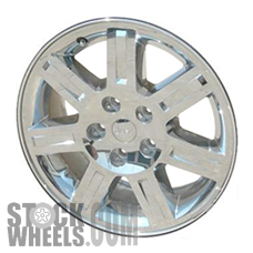 Picture of Jeep COMMANDER (2007-2008) 18x7.5 Aluminum Alloy Chrome Clad 7 Spoke [09078]
