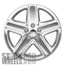Picture of Jeep GRAND CHEROKEE (2008-2010) 20x10 Aluminum Alloy Polished 5 Spoke [09083]