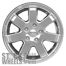 Picture of Jeep COMMANDER (2009-2010) 18x7.5 Aluminum Alloy Chrome Clad 7 Spoke [09094]
