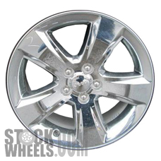Picture of Jeep COMPASS (2011-2013) 18x7 Aluminum Alloy Chrome Clad 5 Spoke [09117]