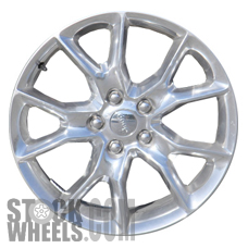 Picture of Jeep GRAND CHEROKEE (2014-2016) 20x8 Aluminum Alloy Polished 5 Split Spoke [09138A]