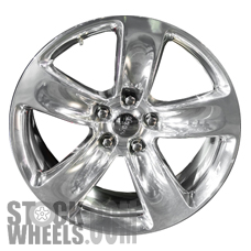 Picture of Jeep GRAND CHEROKEE (2014-2015) 20x10 Aluminum Alloy Polished 5 Spoke [09139]