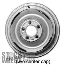 Picture of Buick PARK AVENUE (1980-1984) 15x6 Steel Black 4 Vent [00937C]