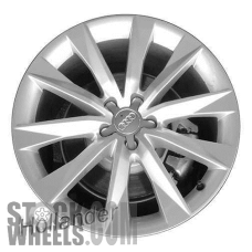 Picture of Audi A7 (2016-2017) 19x8.5 Aluminum Alloy Silver 10 Spoke [58979]