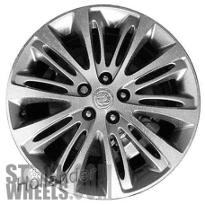 Picture of Buick ENVISION (2017-2018) 19x7.5 Aluminum Alloy Machined with Grey 10 Double Spoke [04807]