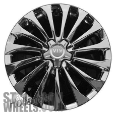 Picture of Kia K900 (2016-2017) 19x9 Aluminum Alloy Chrome 15 Spoke [74724]
