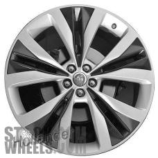 Picture of Jaguar F-PACE (2017) 22x9 Aluminum Alloy Silver 5 V Spoke [59978B]