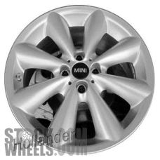 Picture of Mini CLUBMAN (2011-2014) 17x7 Aluminum Alloy Chrome 8 Spoke [71468]