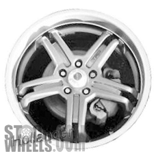 Picture of Scion XB (2008-2015) 19x8 Aluminum Alloy Chrome 5 Spoke [69552]